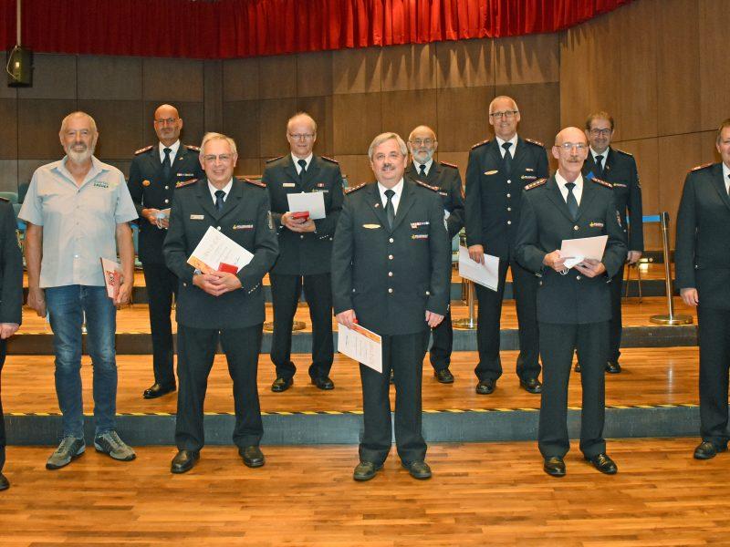 Kreisfeuerwehrverband 2021 – Ehrungen