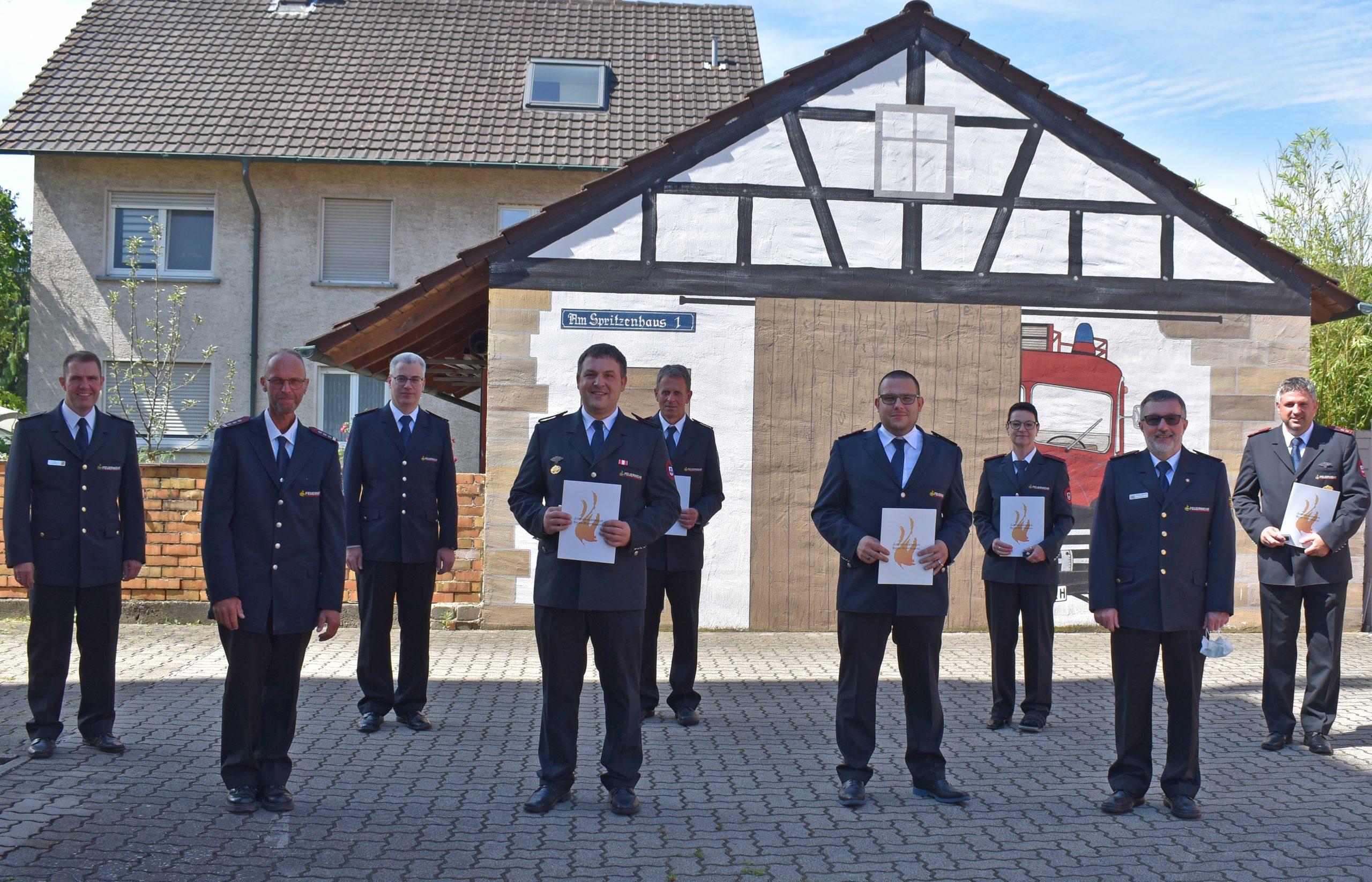 Verbandsversammlung 2021 Kreisjugendfeuerwehr Rastatt